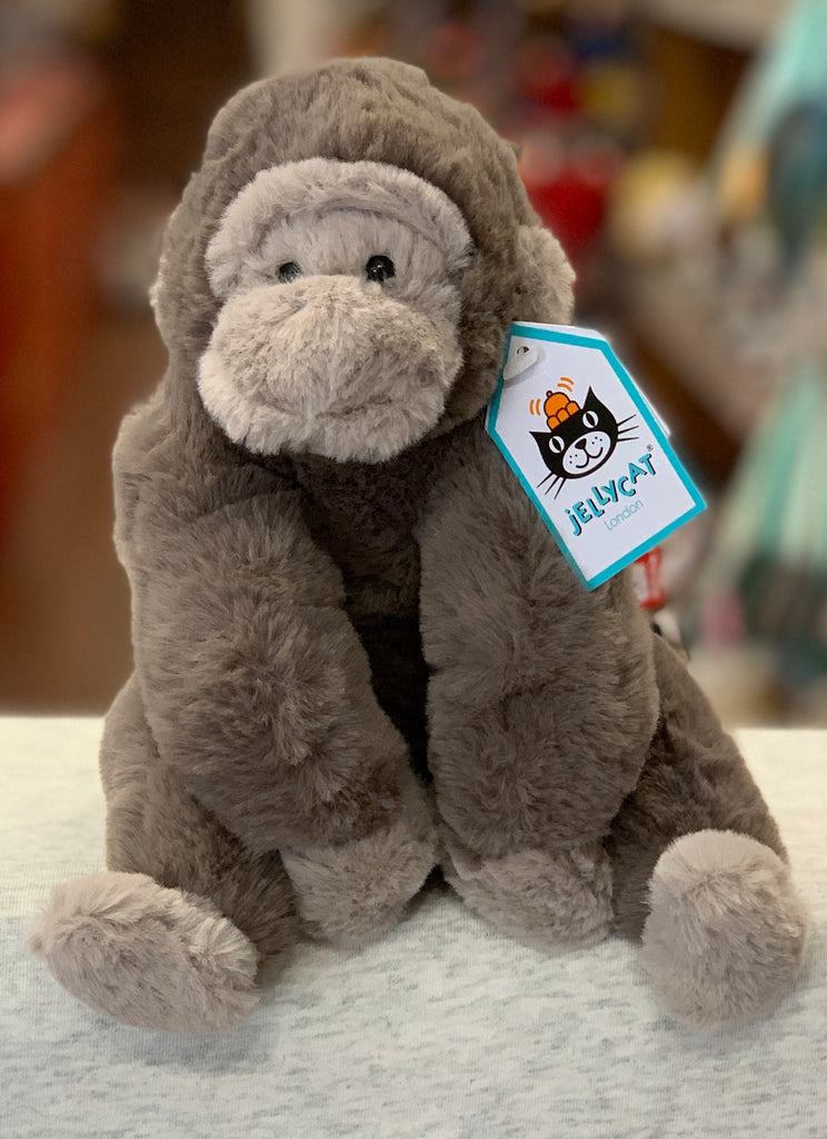 Jellycat Gregory Gorilla Plush 9""