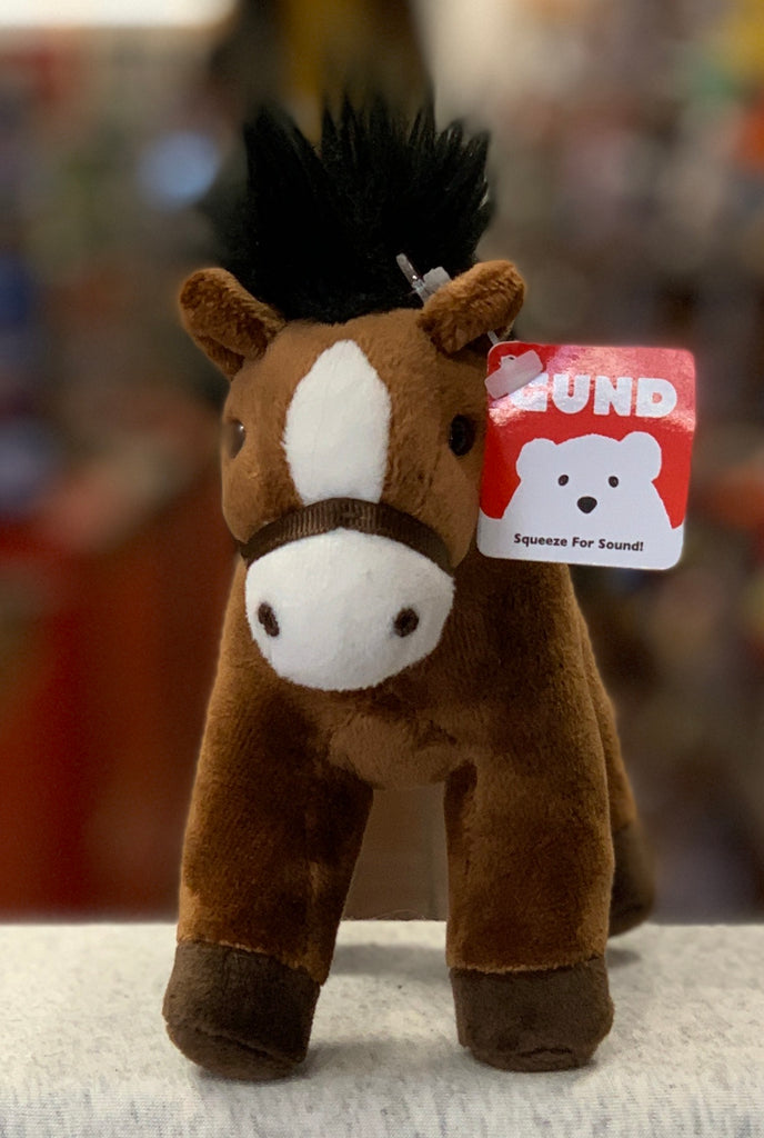 Gund Horse Chatter Brown Plush 4.5""