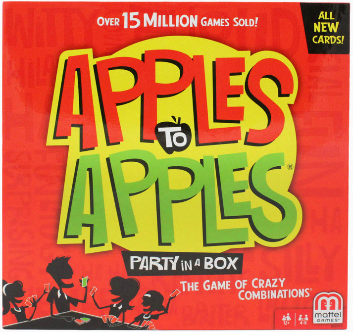 Apples To Apples Party Box. The Game of Crazy Combinations