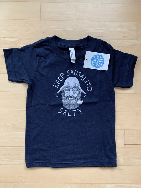 """Keep Sausalito Salty"" Kid's T-Shirt"