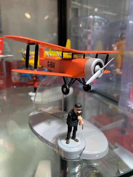 Red G-BAI Biplane From the Black Island Ref. 29548