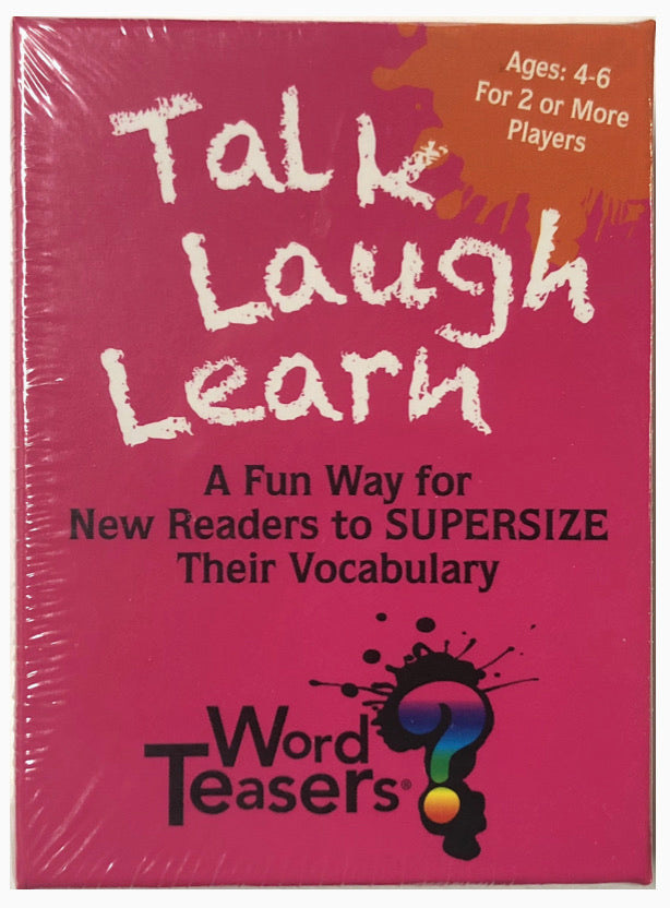 Word Teasers Talk Laugh Learn