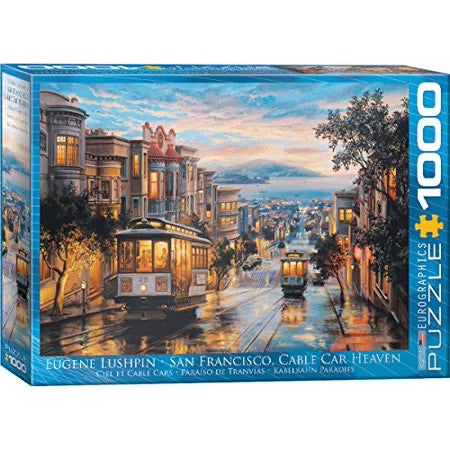 Eurographics San Francisco Cable Car Puzzle 1000 pcs