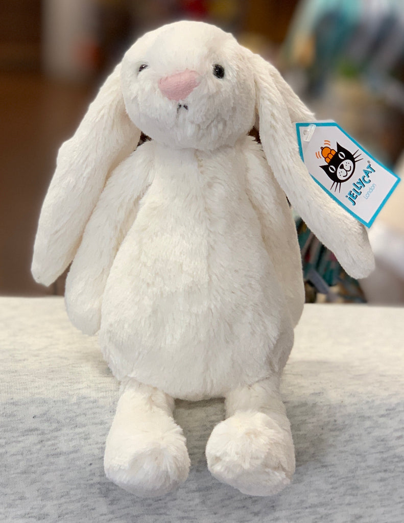 Jellycat Bashful Cream Bunny Plush 7""