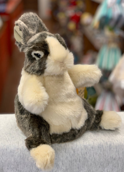 Folkmanis Baby Dutch Rabbit Hand Puppet 8""