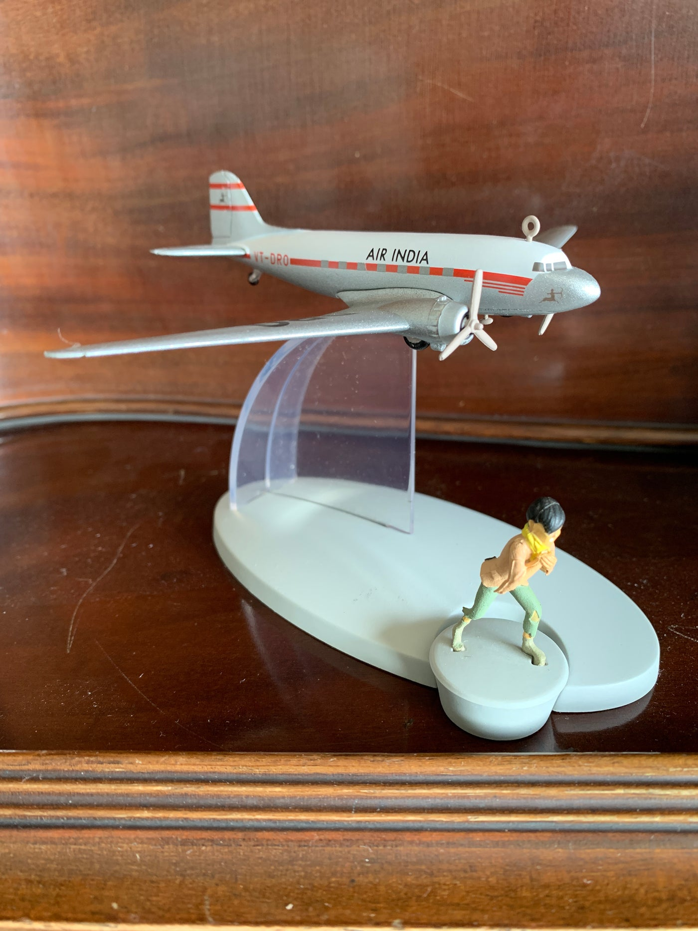 Air India Douglas DC3 Dakota from Tintin in Tibet
