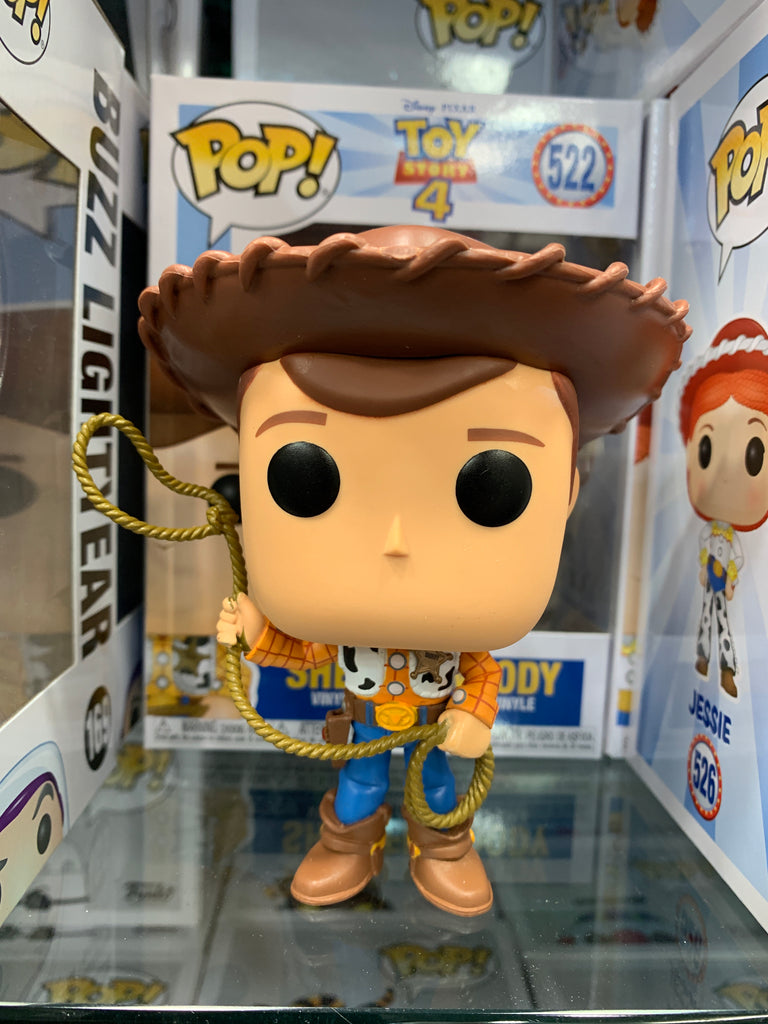 Funko Pop Disney Pixar, Toy Story 4, Sheriff Woody #522