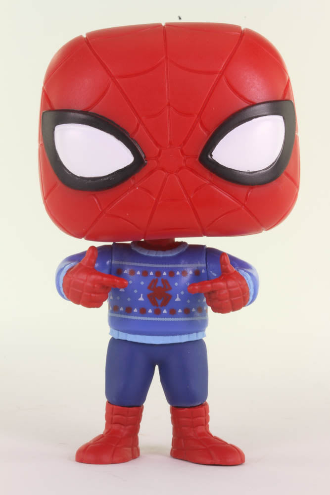 Funko Pop Marvel, Spider-Man, Ugly Sweater Spider-Man #397