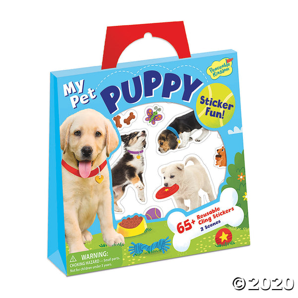 My Pet Puppy Sticker Fun