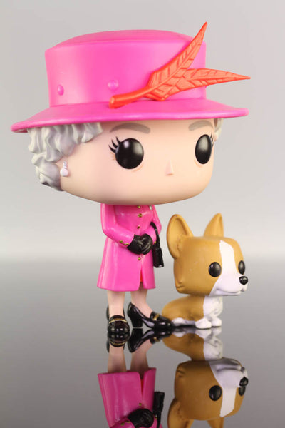 Funko Pop Royals, Queen Elizabeth ll #01