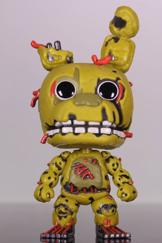 Funko Pop Games, Five Nights At Freddy's, Springtrap #110