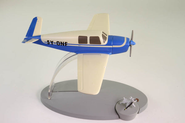 Kidnappers Blue Beechcraft Bonanza Model 35 From The Calculus Affair
