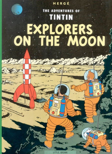 The Adventures of Tintin. Explorers on the Moon
