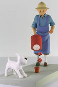 Tintin The Rose Statuette From the Moulinsart Privilege Collection