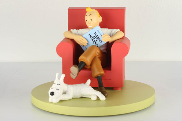 Tintin and Snowy At Home Icons Series