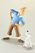 Tintin and Snowy Gymnastics Resin Figures