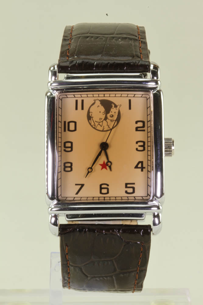 Tintin Portrait Tank Watch 82409
