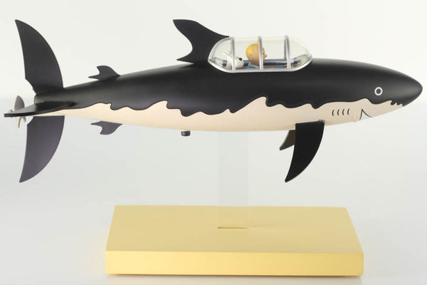 Tintin Shark Submarine From Red Rackham's Treasure Icons Series