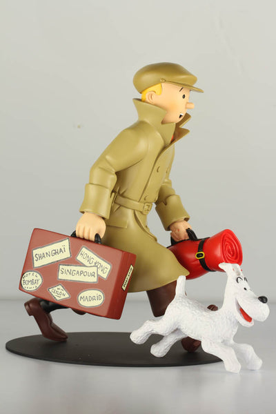 Tintin and Snowy Homecoming Icon Series