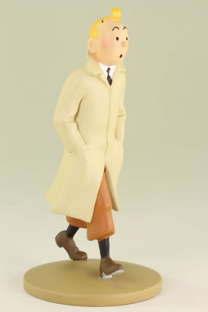 Tintin Trench Coat Resin Figurine
