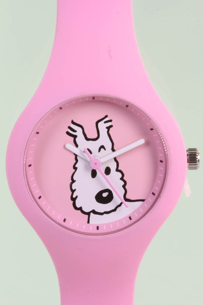 Tintin Watch, Characters, Snowy, Pink, XS