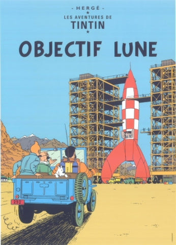 Poster Objectif Lune
