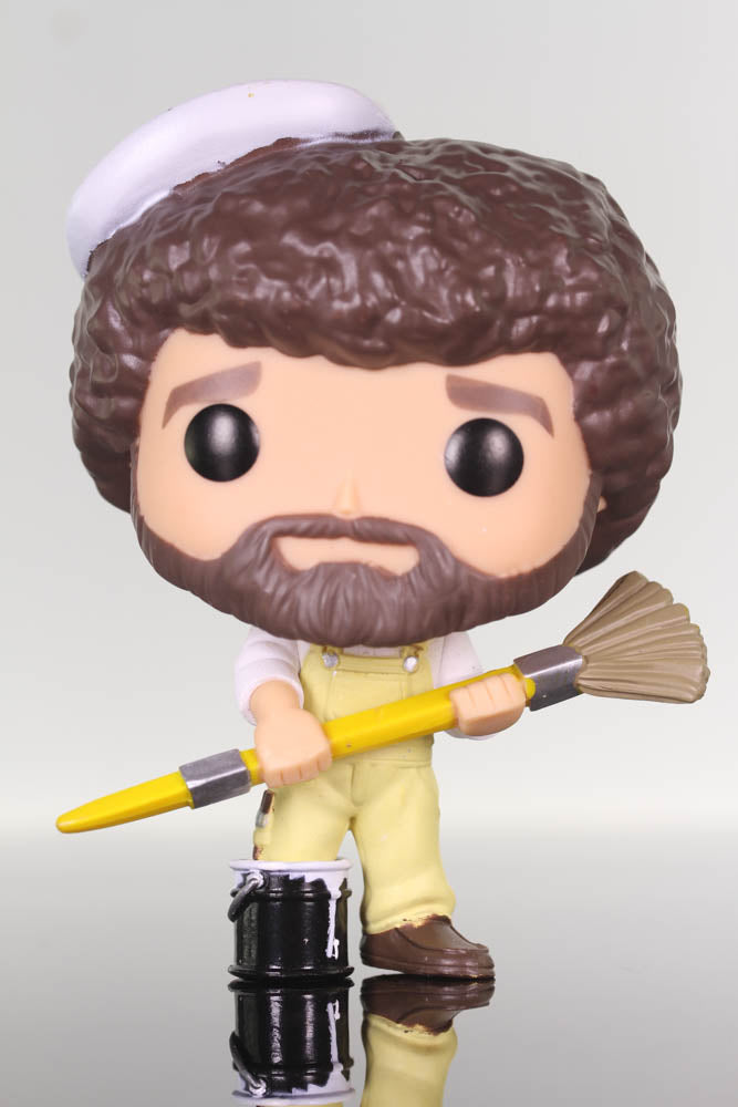 Funko Pop Television, Bob Ross Joy of Painting, Bob Ross with Paintbrush #559