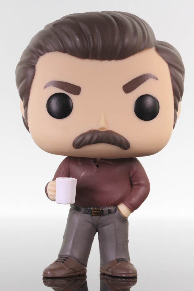 Funko Pop Television, Parks and Recreation, Ron Swason #499