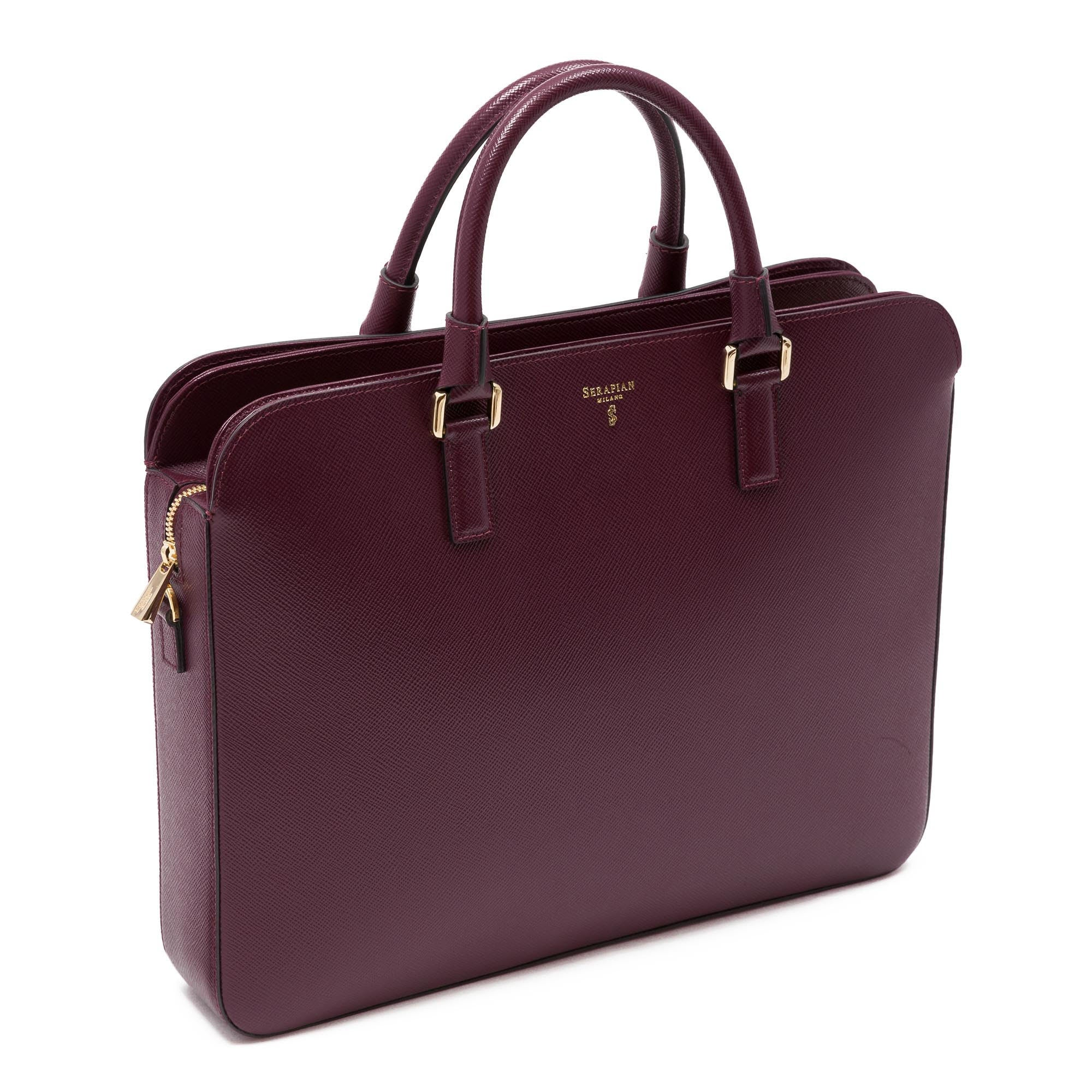 Business Briefcase Evolution - Ruby Red