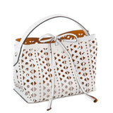 Amina Bag Cape Town Nappa - Optical White/Mango