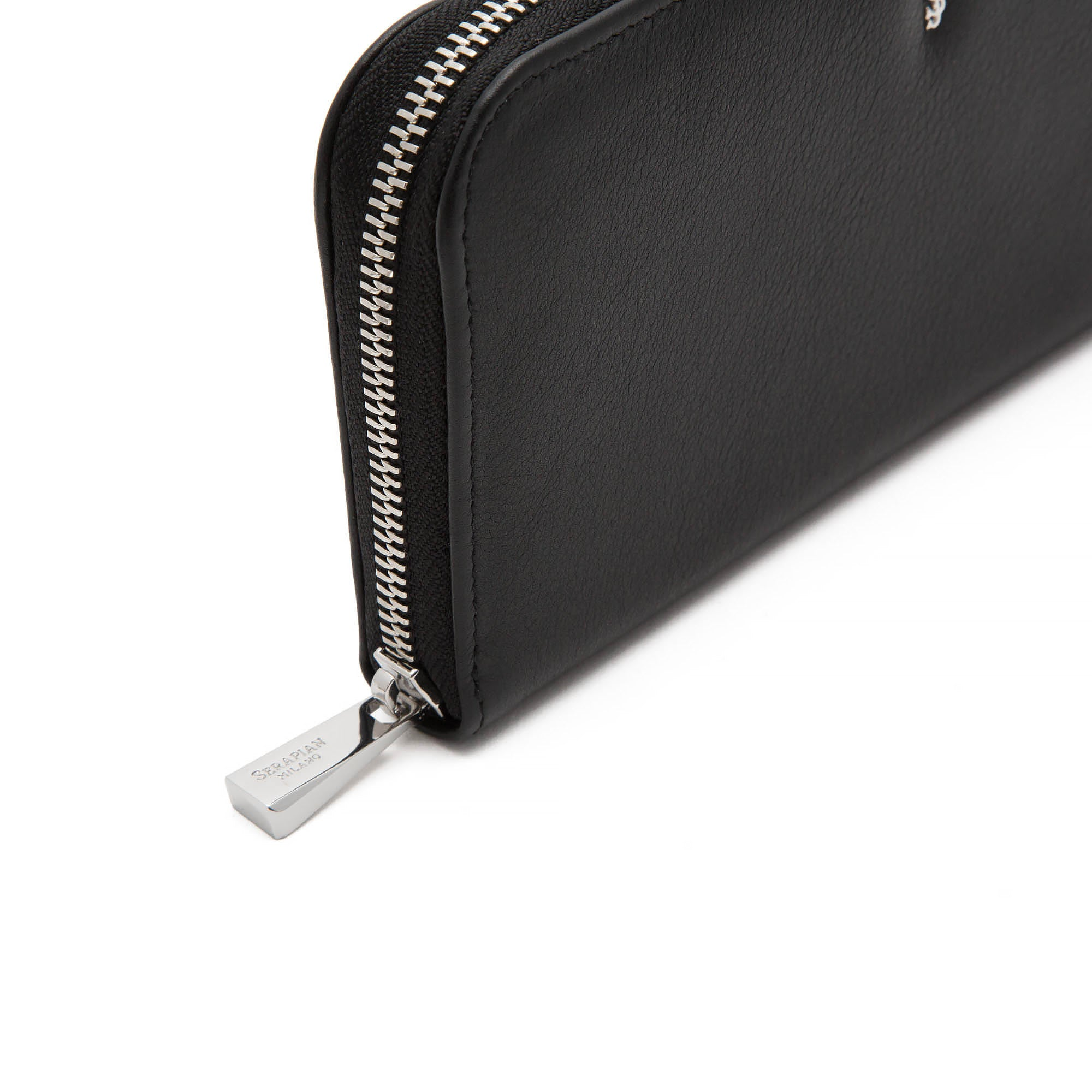 Single Zip Travel Pouch Anniversary - Black