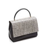 Audrey Bag Elaphe/Evolution - White/Black