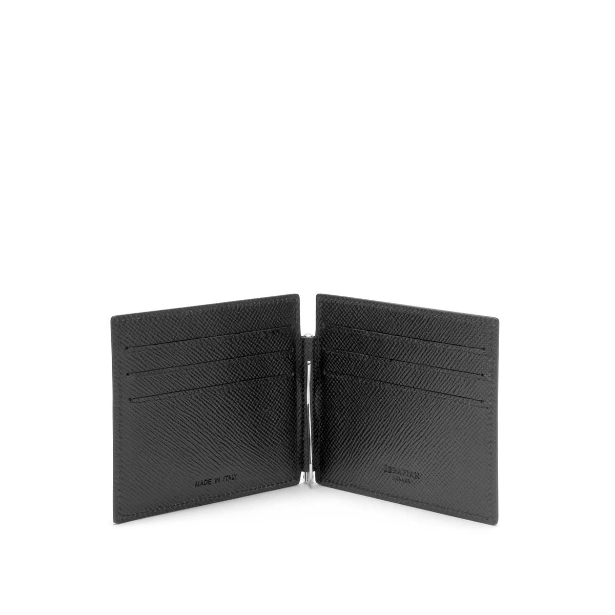 Billfold 6 cc Evolution and Clip - Black