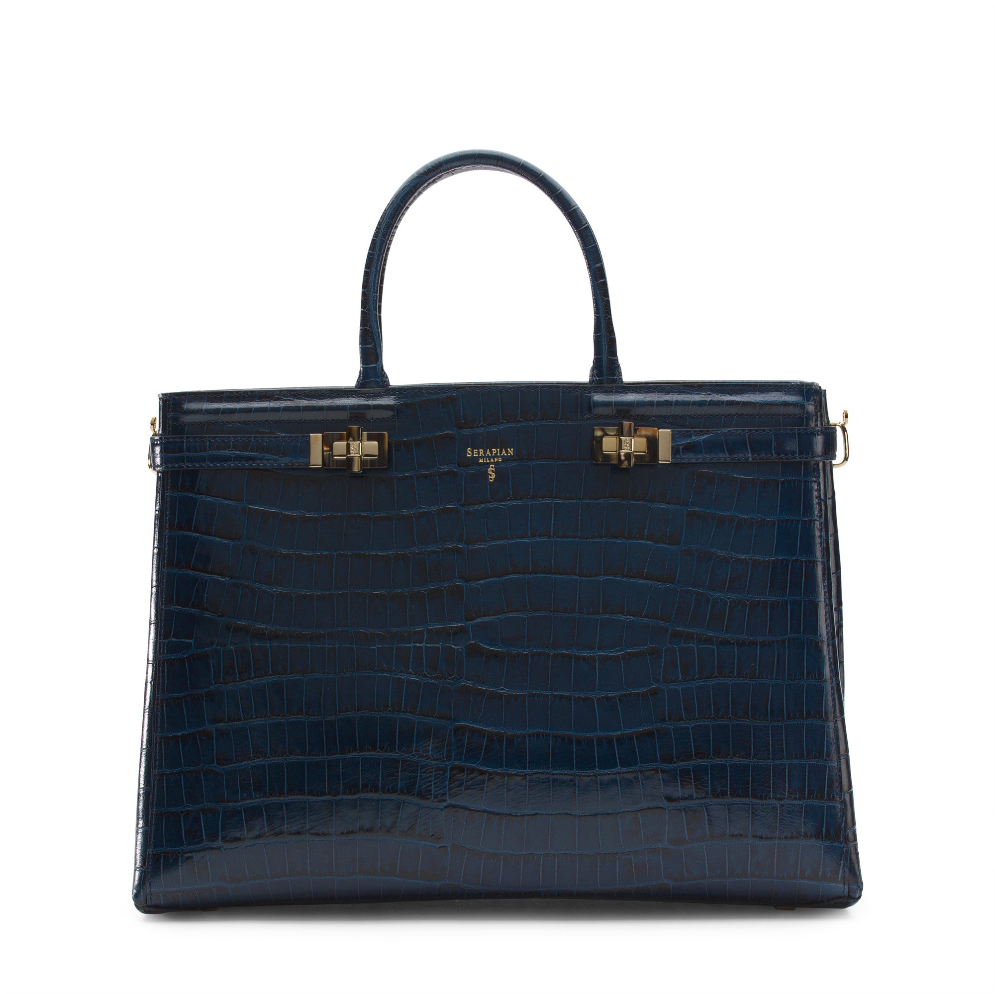Horizontal Meliné Bag Miami - Blue