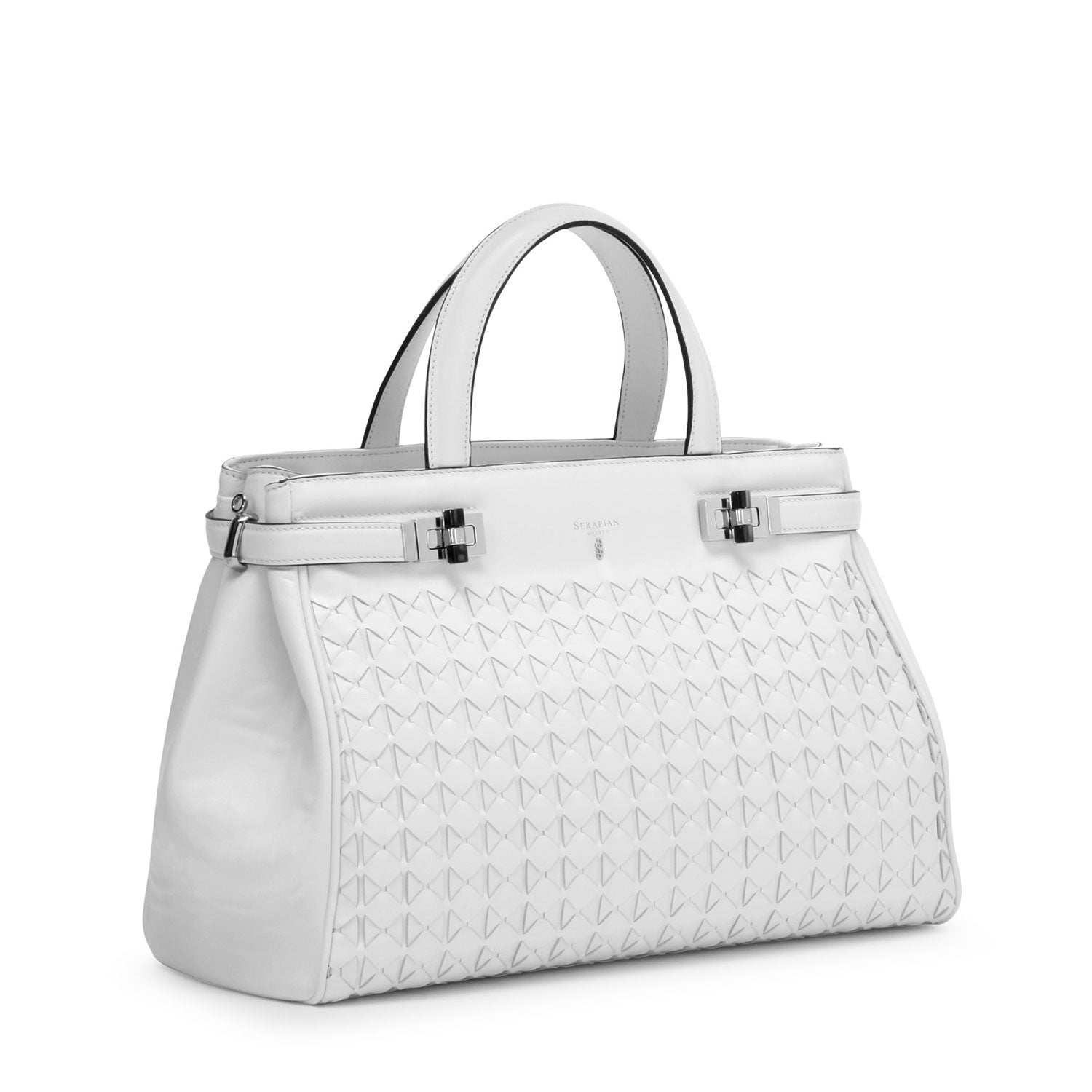 Soft Meliné Bag - Optical White