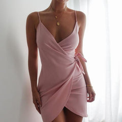 Short Pink Dress - Love Loren