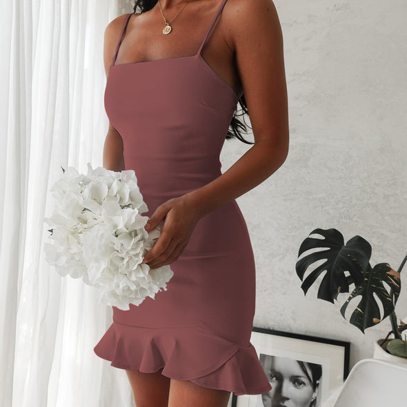 Hampton Dress - Mauve