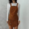 Boston Overall Dress - Camel