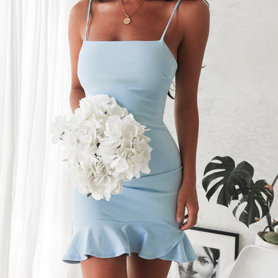 Hampton Dress - Sky Blue