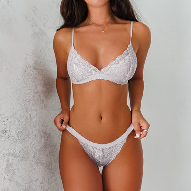 Bianca Set- Grayish White