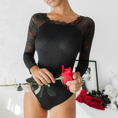Tiffany Bodysuit - Black