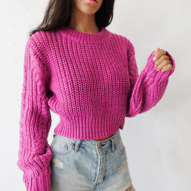 Alma Sweater - Pink