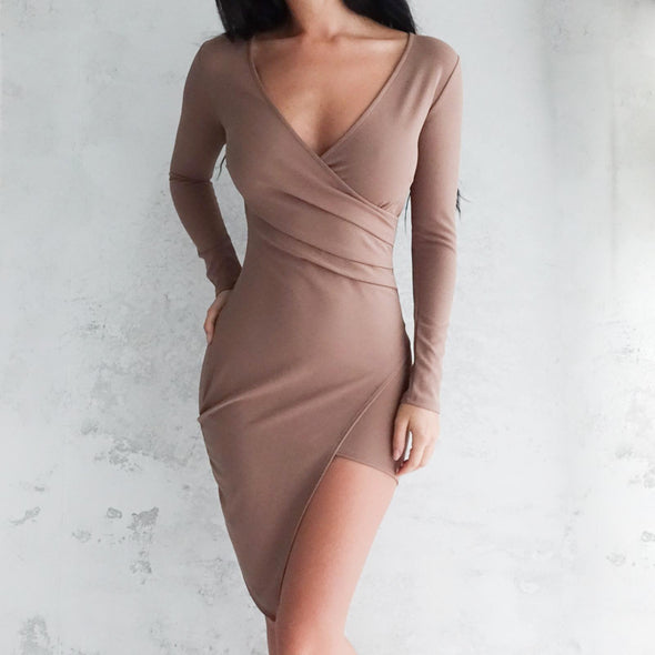 Jade Dress - Nude