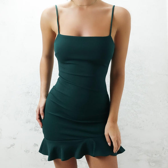 Hampton Dress - Emerald