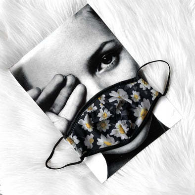 100% Cotton Daisy Mesh Mask