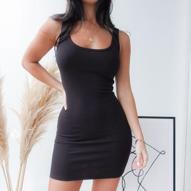 Emilee Dress- Black
