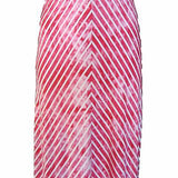 Buffalo by David Bitton Paul Tie-Die Pink / White Chevron Maxi Dress – Small