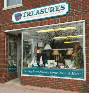 Treasures in Lewes Storefront