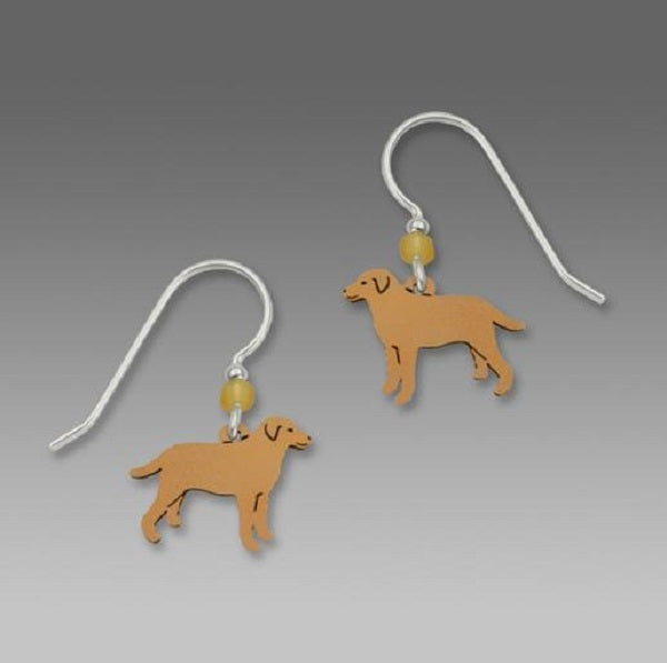 Sienna Sky Yellow Labrador Earrings