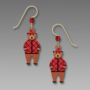 Sienna Sky Cozy Bear Earrings